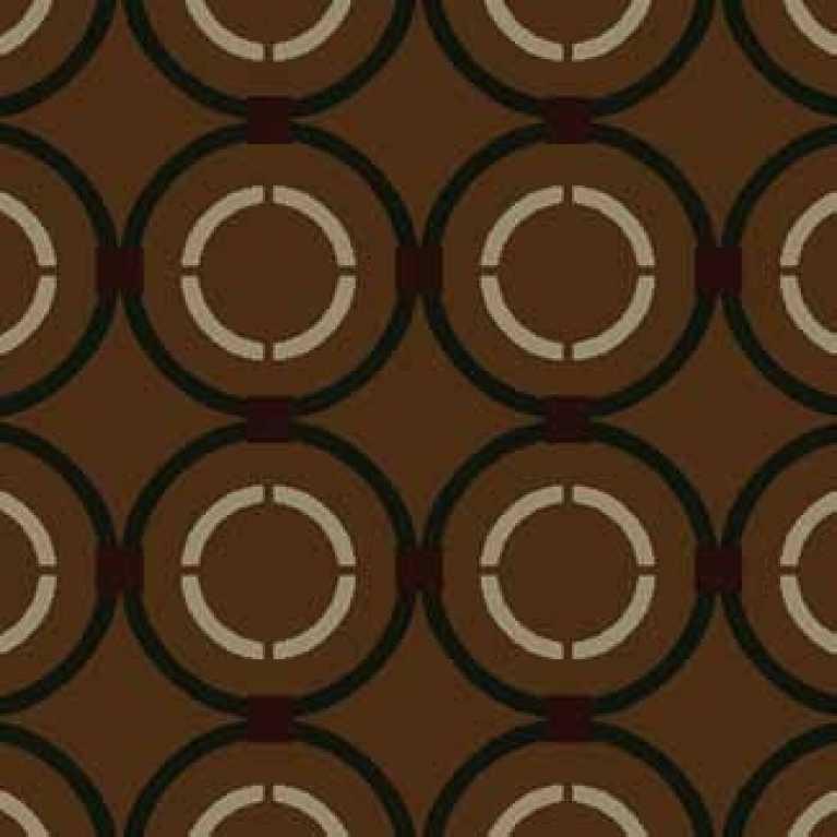 OS 08 127 - 26 Kahverengi Desenli Otel Halısı