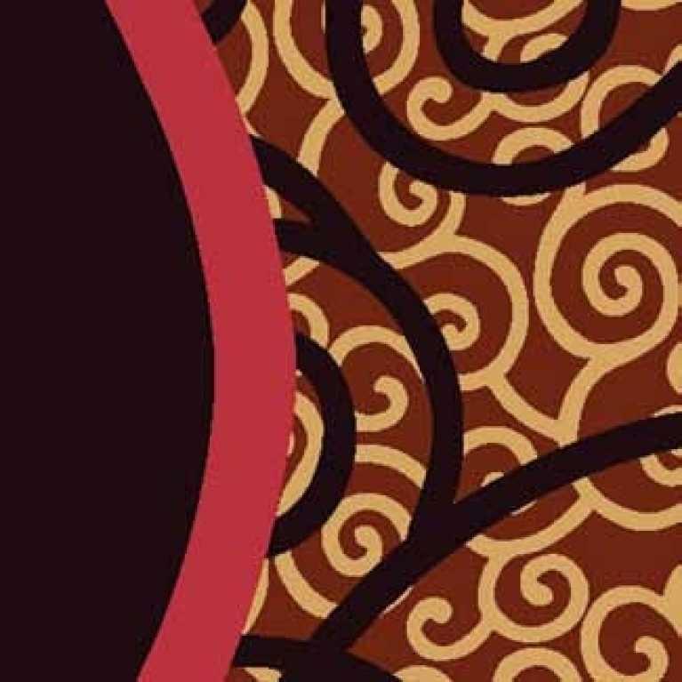 OS 08 182 - 03 Kahverengi Desenli Otel Halısı