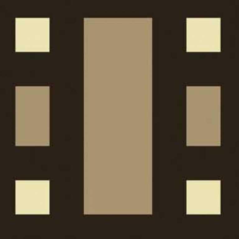 OS 09 079 - 12 Desenli Koyu Kahve Otel Halısı