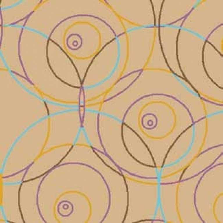OS 10 092 - 07 Bej Desenli Otel Halısı