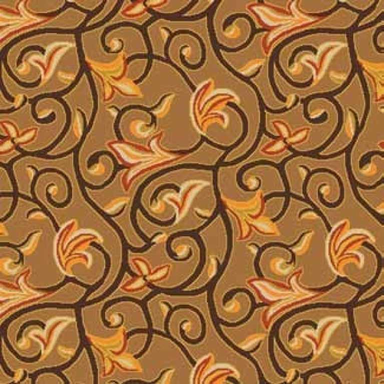 OS 11 011 - 05 Kahverengi Desenli Otel Halısı