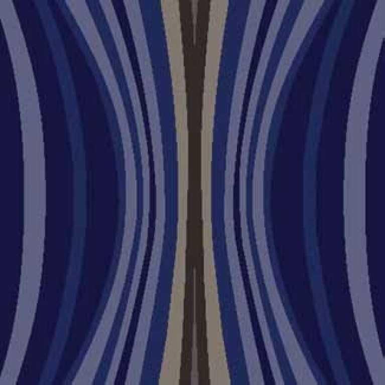 OS 11 070 - 02 Mavi Desenli Otel Halısı