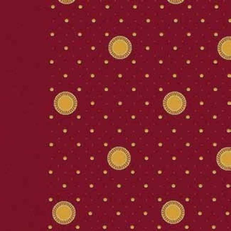 OS 11 166 - 03 Bordo Desenli Otel Halısı