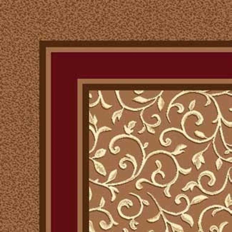 OS 11 182 - 03 Kahverengi Desenli Otel Halısı