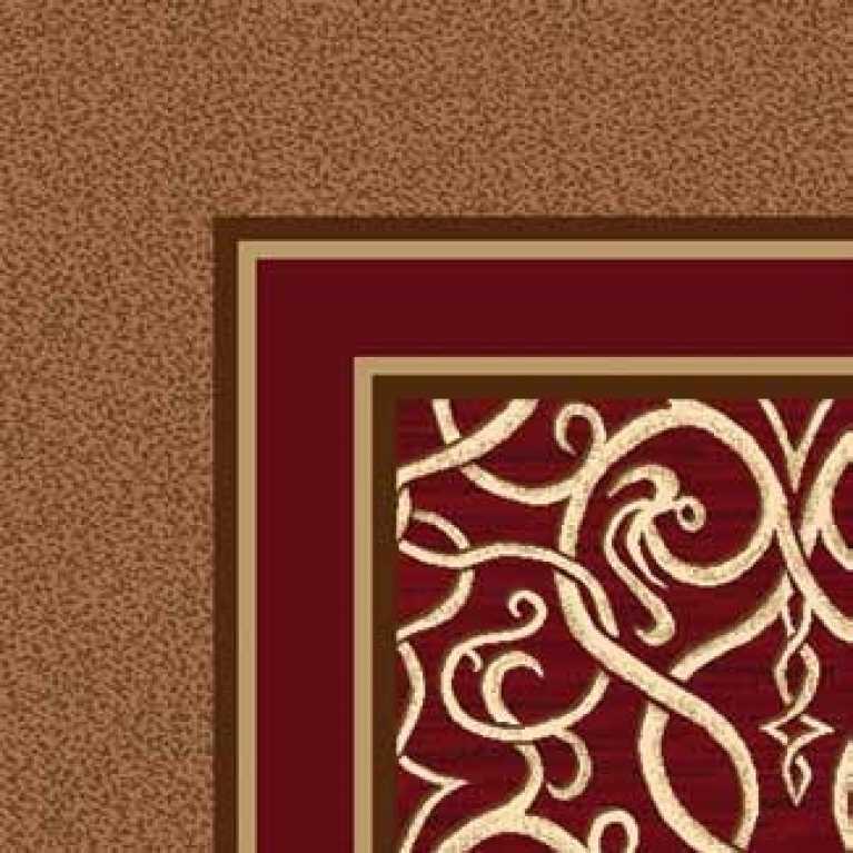OS 11 182 - 04 Kahverengi Desenli Otel Halısı