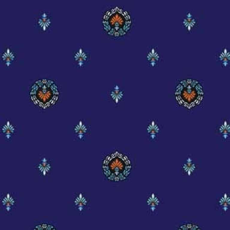 S07 087 - 03 Lacivert Otel Halısı