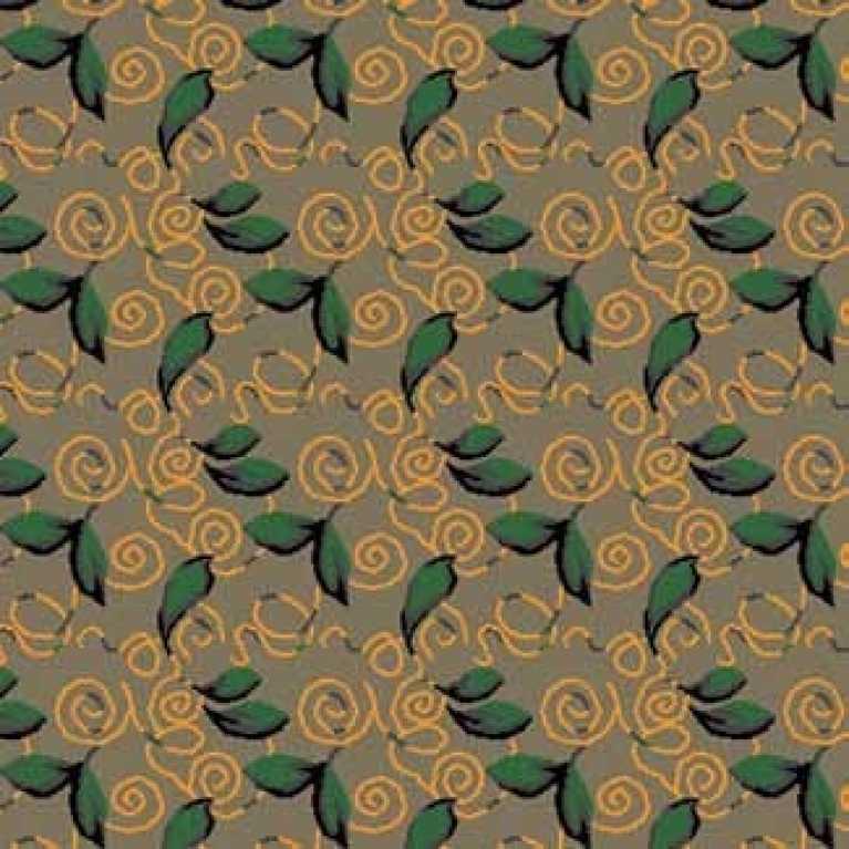 S07 120 - 02 Yeşil Desenli Otel Halısı