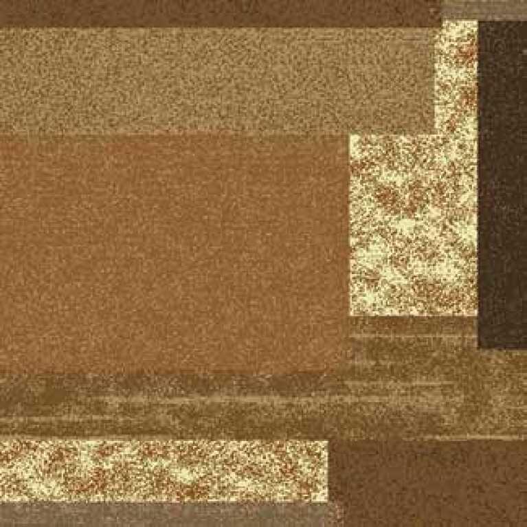 S10 013 - 01 Kahverengi Desenli Hotel Halısı