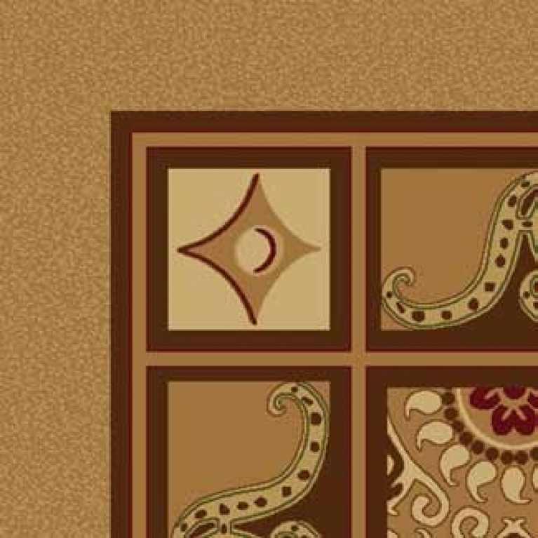 S10 052 - 29 Kahverengi Desenli Hotel Halısı