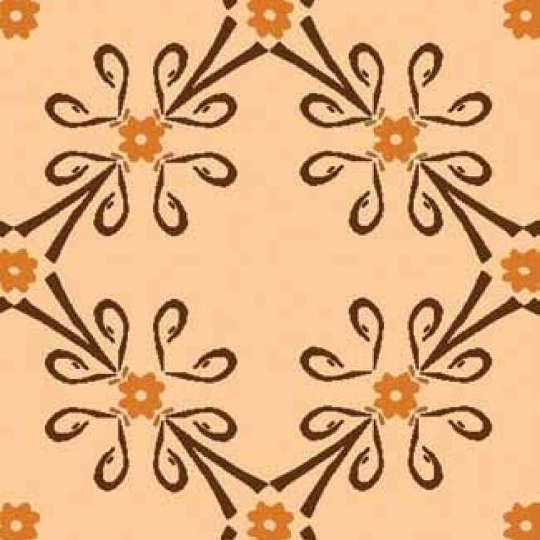 Samur SD (137) Oranj Desenli Otel Halısı