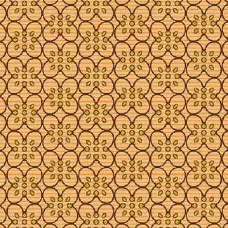 Samur SD (142) Oranj Desenli Otel Halısı