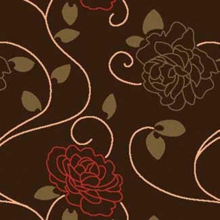 Samur SD (186) Kahverengi Desenli Otel Halısı