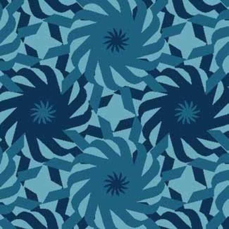 Samur SD (218) Mavi Desenli Otel Halısı