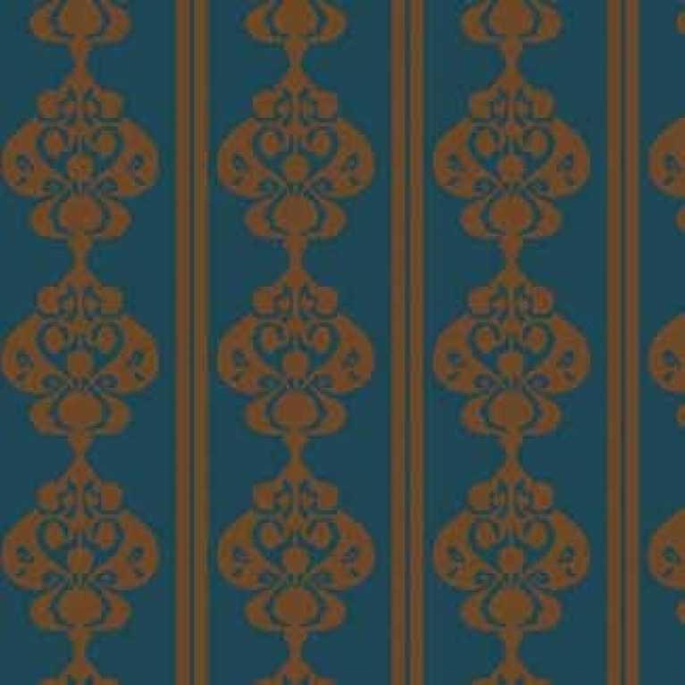 Samur SD (331) Turkuaz Desenli Otel Halısı