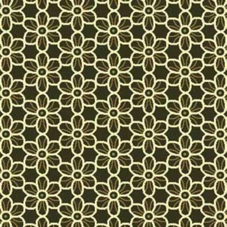 Samur SD (355) Yeşil Desenli Otel Halısı