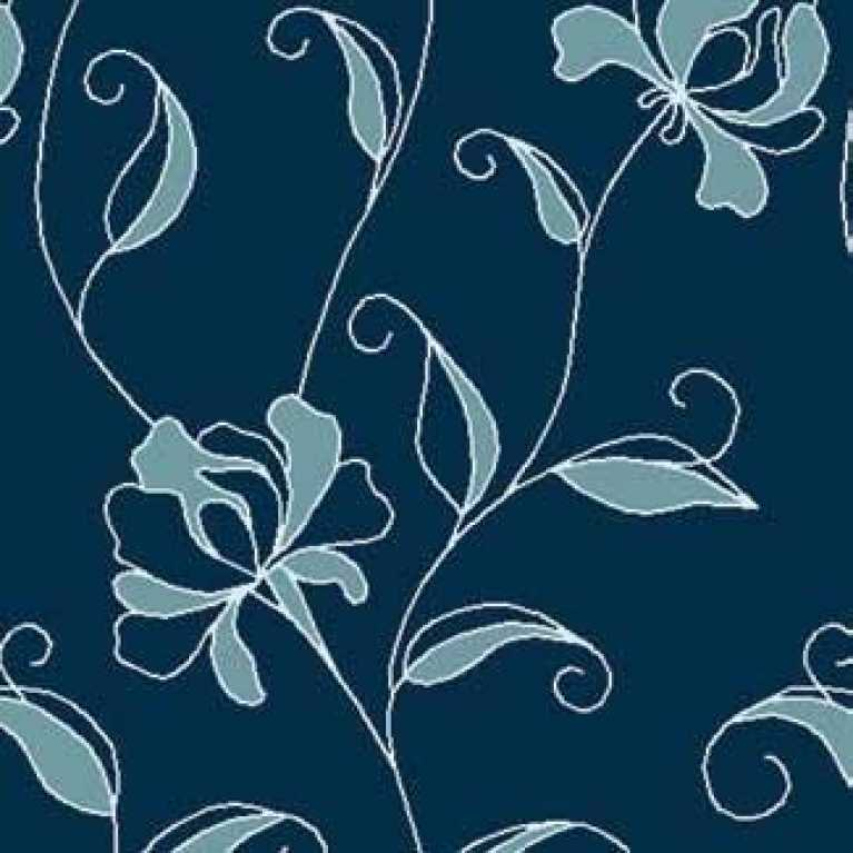 Samur SD (96) Mavi Desenli Otel Halısı