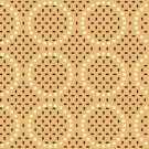 OS 09 188 - 01 Bej Desenli Otel Halısı