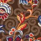 OS 10 090 - 01 Kahverengi Desenli Otel Halısı