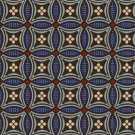 S10 037 - 03 Lacivert Desenli Hotel Halısı