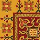 S11 200 - 08 Renkli Desenli Otel Halısı