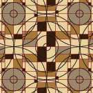 Samur SD (111) Kahverengi Desenli Otel Halısı