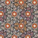 Samur SD (268) Renkli Desenli Otel Halısı