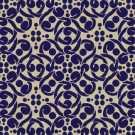 Samur SD (367) Lacivert Desenli Otel Halısı