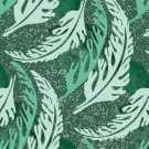 Samur SD (5) Yeşil Desenli Otel Halısı